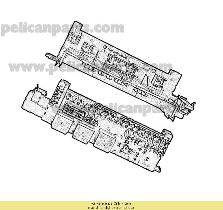 mercedes benz cl class w switches motors relays mercedes benz cl class 2000 2006 w215 switches motors relays fuses wiring page 3