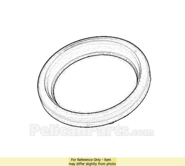 For VW Beetle Set of 2 Transmission Cooler Seal Lower CRP 103 997 00 45
