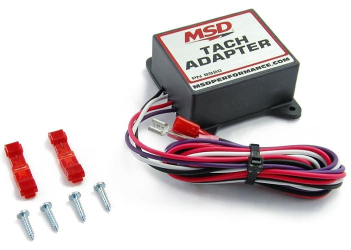 Msd 8920 Tachometer Adapter Msd8920