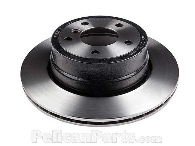 Front And Rear Brake Disc Rotors For BMW 525Xi 528Xi 530Xi 535Xi 535i XDrive