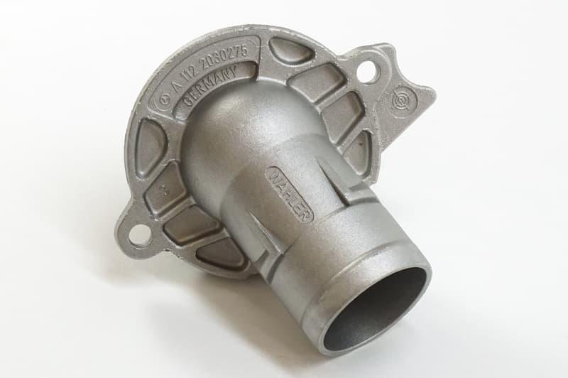 For Mercedes W211 W219 Engine Cooling Thermostat w// Housing 87 deg C Genuine