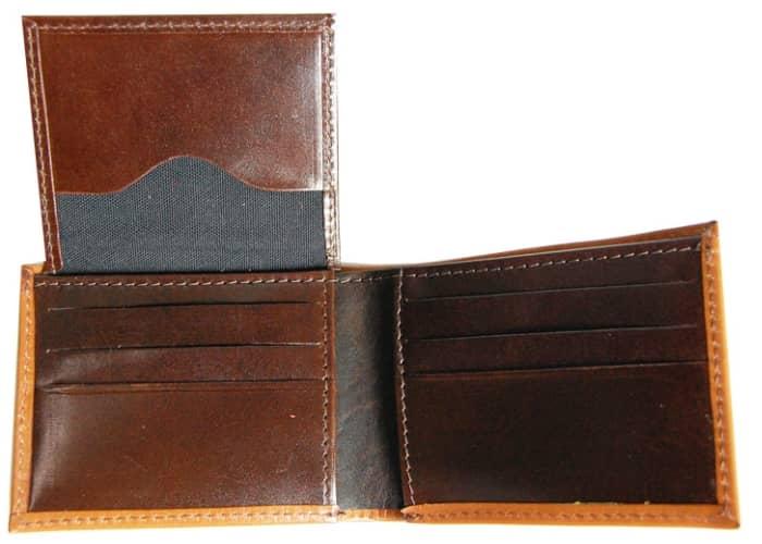 Mercedes benz tri color wallet for Mercedes benz wallet