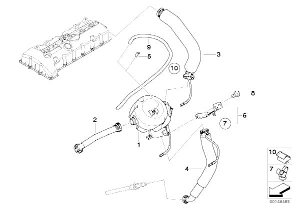 engine manifold vacuum wiper diagram