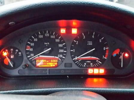 2000 bmw 528i eml light