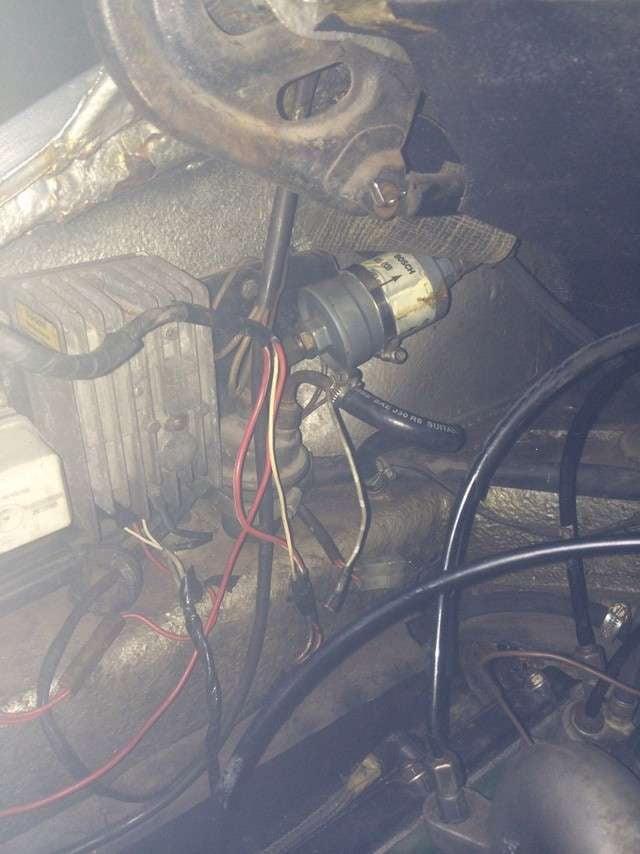 Porsche 911 Fuel Pump Replacement 911 1965 89 930
