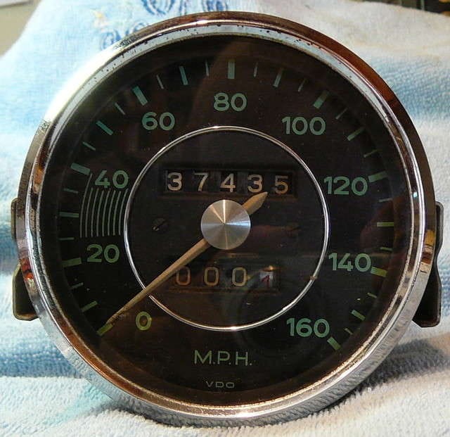 sdometer for a 356 most of those i ve seen are 120mph versions what were the applications for the 356 series that used the 160mph sdo