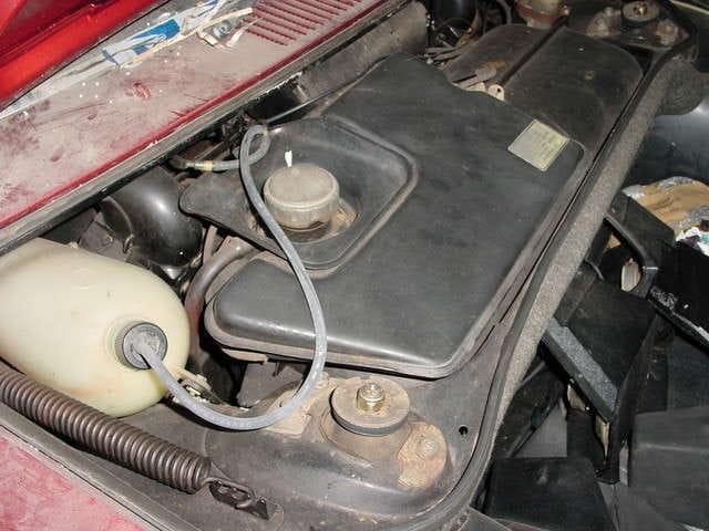 Porsche 914 Gas Tank Removal