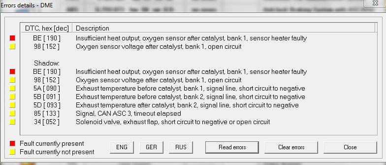 Oxygen Sensor Heater Monitor Facias