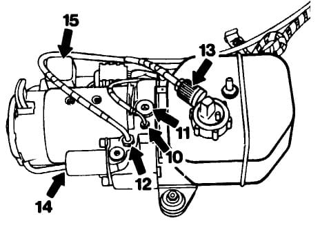 Mercedes Benz Slk 230 Vario Top Hydraulic Pump Service