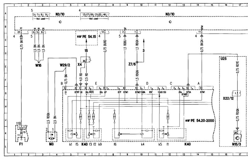 K40 Wiring Diagram - Data Wiring Diagram on